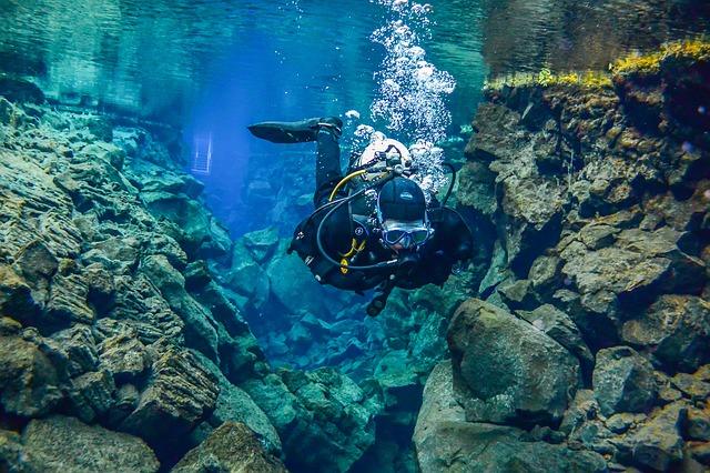 Potápění v hloubce nad 40m